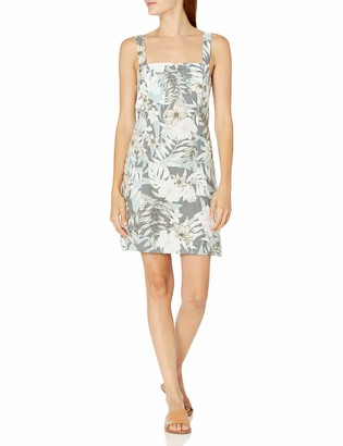Seafolly Women's Printed Linen Short Dress