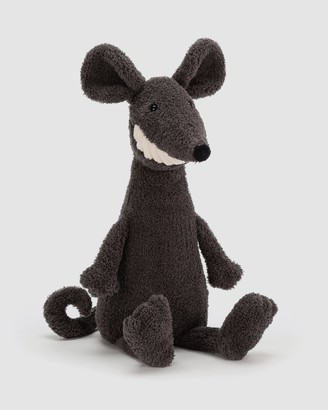 Jellycat Boy's Grey Animals - Toothy Rat - Size One Size at The Iconic