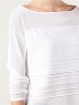 Helmut Lang Striped Dégradé Sweater