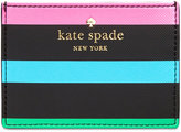 Kate Spade Harding Street Fiesta Stripe Card Holder