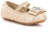 MICHAEL Michael Kors Rover Kendra Girls' Glitter Crystal Ornament Ballet Flats