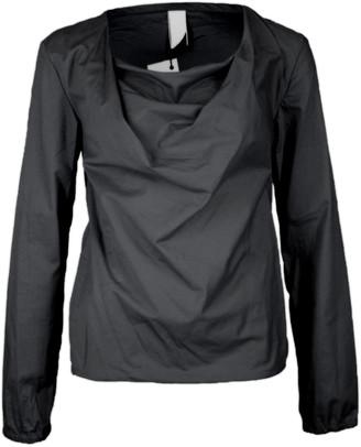 Format LIZZ Black Plain Long Sleeve Top - XS - Black