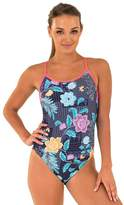 Zoggs Happy Aqua Back One Piece