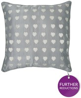 By Caprice Krystle Embroidery Heart Cushion Cover