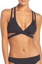 Becca Women's Color Code Wrap Bikini Top