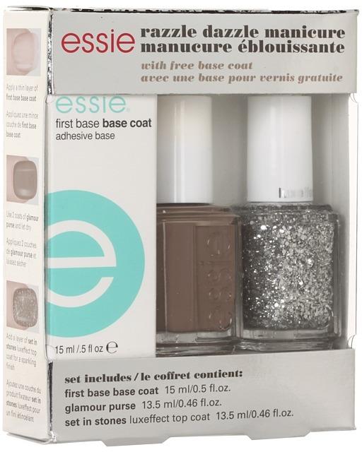 Essie Razzle Dazzle Gift Set (Manicure Red) - Beauty