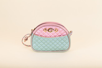 Gucci Metallic Trapuntata Crossbody Bag