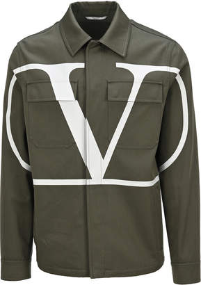 Valentino Vlogo Safari Jacket