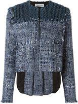 Sonia Rykiel woven cropped jacket