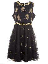 Giamba Tiger Print Dress