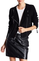 Paige Tiana Genuine Leather Whipstitched Jacket