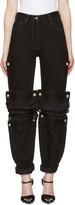 Y/Project Black Cufflink Jeans