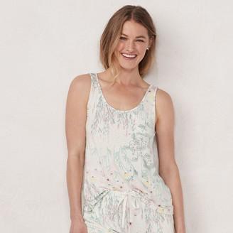 Lauren Conrad Women's Pajama Tank Top