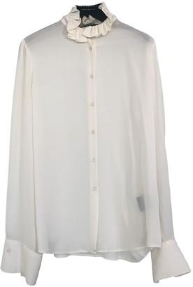 Lauren Ralph Lauren Ecru Silk Top for Women