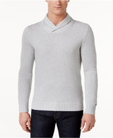 Tommy Hilfiger Men's Textured Shawl-Collar Sweater