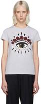 Kenzo Grey Eye Logo T-Shirt