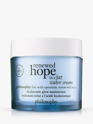 philosophy Renewed Hope in a Jar Water Cream, 60ml