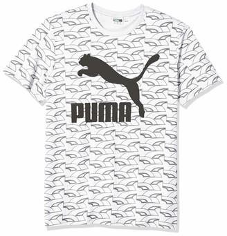 Puma Men's Graphic Retro Sports Tee All Over Print