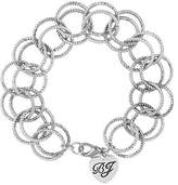 Betsey Johnson Circle Link Bracelet