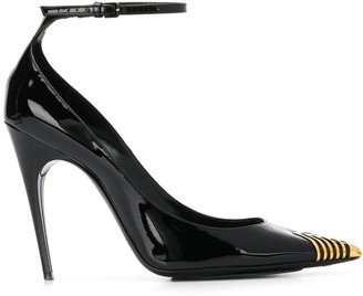 Saint Laurent 7 Contrasting Toe Cap Pumps