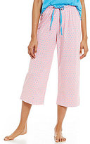 Karen Neuburger Geometric Capri Sleep Pants