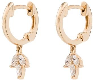 Dana Rebecca Designs 14kt yellow gold Alexa Jordyn hoop earrings