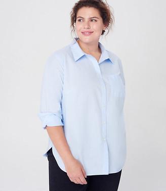 LOFT Plus Pocket Button Down Shirt