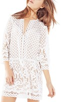BCBGMAXAZRIA Laurice Floral Lace Tunic Dress