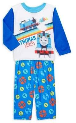 AME Sleepwear Baby Boy's 2-Piece Thomas Express Pajama Top & Pants Set