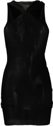Bottega Veneta Twisted-Neck Knitted Top