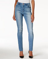 Nanette Lepore Nanette by Gramercy High-Rise Skinny Sapphire Wash Jeans, Only at Macy's