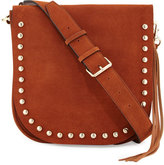 Rebecca Minkoff North/South Unlined Messenger Bag, Almond