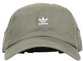 adidas Originals Mini Logo Relaxed Cap (Legacy Green/White) Caps