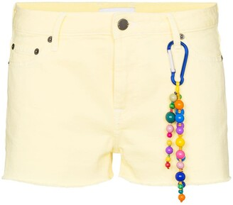 Mira Mikati short denim shots