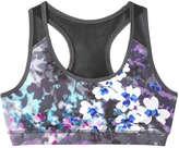 Joe Fresh Women's Pull-on Active Bra, Fuchsia (Size XS)