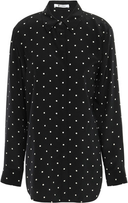 Alexander Wang Polka-dot Silk Shirt
