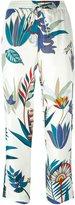 Tory Burch botanical print pants
