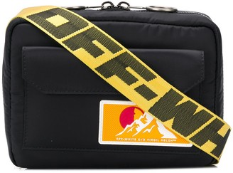 Off-White Puffy logo patch crossbody bag