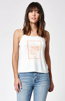Obey Nobody's Flower Cami Tank Top