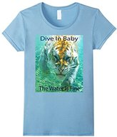 Kids Dive In Baby - Swimming Tiger 8