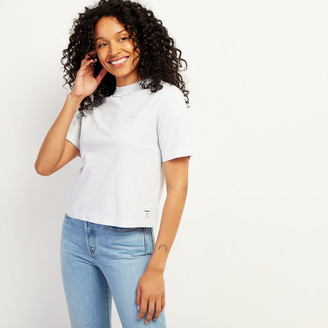 Roots Womens Raw Edge Neckline T-shirt