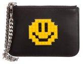 Les Petits Joueurs Leather Bag Strap w/Pouch