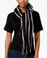 Charter Club Pinstripe Bias Poncho, Created for Macy's