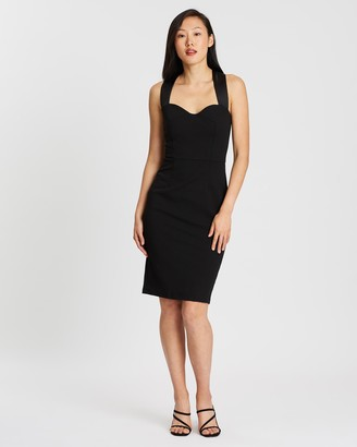Forcast Morgan Sweetheart Pencil Dress