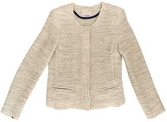 IRO Ecru Wool Jackets