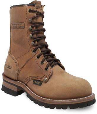 AdTec 2427 Women's Water Resistant Logger Work Boots