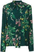 Rochas floral-print shirt