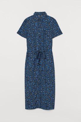 H&M Shirt Dress - Blue
