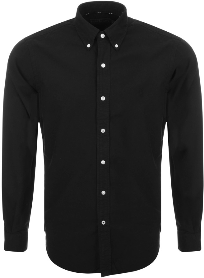 Ralph Lauren Tonal Oxford Shirt Black