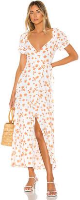 Flynn Skye Annabelle Wrap Midi Dress